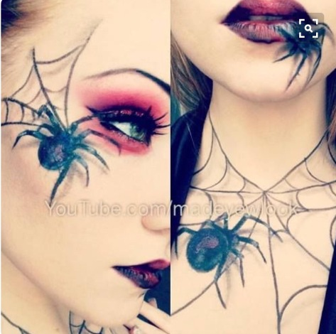 spider web makeup  mugeek vidalondon